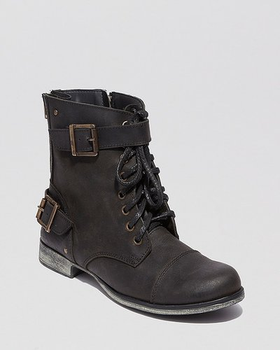 DV Dolce Vita Lace Up Boots - Sargeant