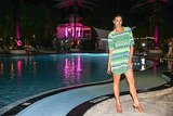 For this showgoer, it was all about one great statement-print dress and easy Summer sandals. Source: David X Prutting/BFAnyc.com