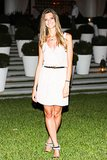 A little white dress works every time.  Source: David X Prutting/BFAnyc.com