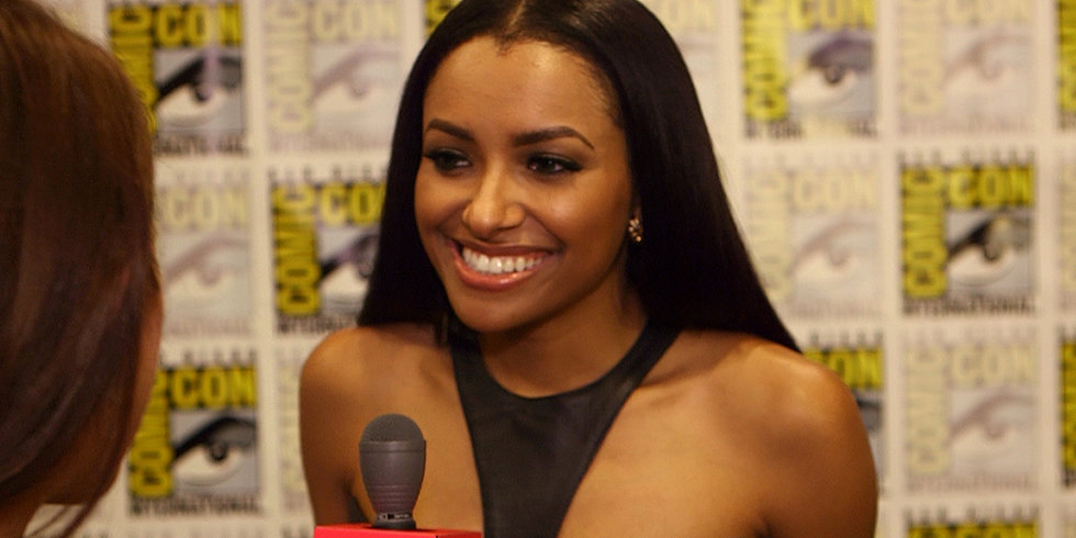 "Kat Graham Says Ghost Bonnie Won't ""Have a Reduced Role"" on The Vampire Diaries"