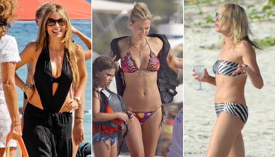 Beach Babe Bonanza — Sofia, Bar, and More Break Out Their Bikinis