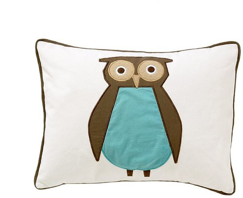 Owls Sky Boudoir Pillow