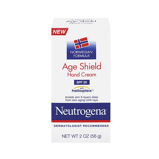 Nothing beats a classic, and Neutrogena Norwegian Formula Age Shield Hand Cream SPF 30 ($7) hydrates hands while protecting them with the brand's signature helioplex sunscreen for serious sun protection.