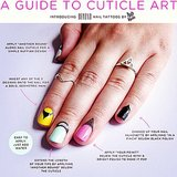 Beyond Nail Tattoos Latest Nail Art Trend is Cuticle Tattoos