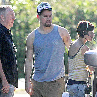 Channing Tatum Visits Jenna Dewan on Set in Vancouver