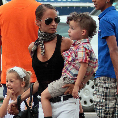 Nicole Richie Vacation Style in France 2013