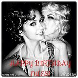 Nina Dobrev wished a happy birthday to Julianne Hough. Source: Nina Dobrev on WhoSay