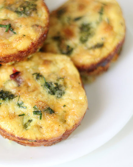 Savory: Turkey, Broccoli, and Egg Muffins