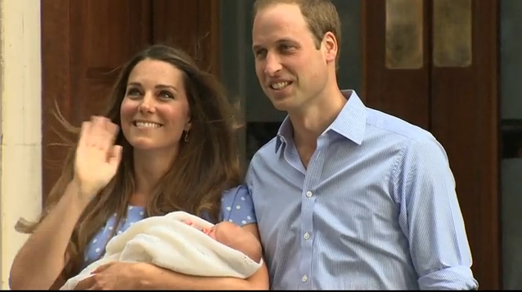 Royal Rewind: Look Back on Prince George's First Appearance!