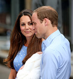 "When a reporter asked if his son had hair, Prince William quipped, ""He's got way more than me, thank God!"""