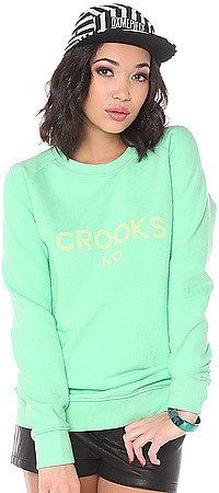 Crooks and Castles The No Love Crewneck