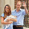 First Video Footage of the Royal Baby