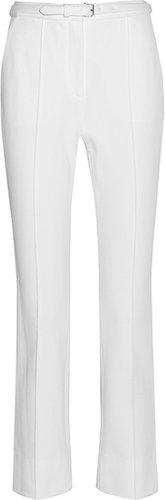 Diane von Furstenberg Georgia cropped stretch-twill pants