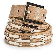 Metal Plates Belt