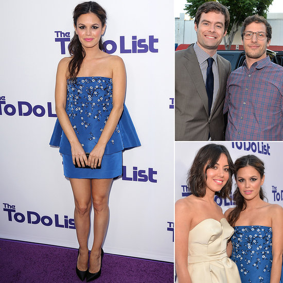 Rachel Bilson Checks Stealing the Show Off Her To Do List With Her Funny Friends