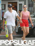 J Lo Shows Prebirthday PDA With Casper in the Hamptons