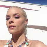 Jaime King showed off her gorgeous Lancome makeup. Source: Instagram user jaime_king
