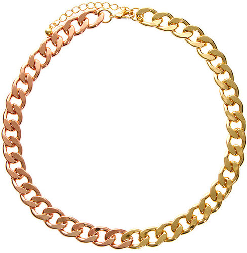 ASOS Mixed Curb Chain Necklace