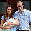 Video Footage From Royal Baby Public Debut Leaving Hospital