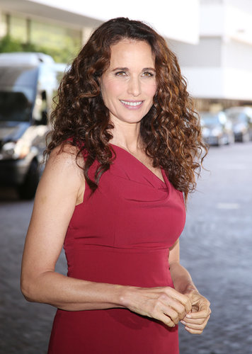Andie MacDowell arrived at the Television Critics Association's Summer Press Tour in LA.