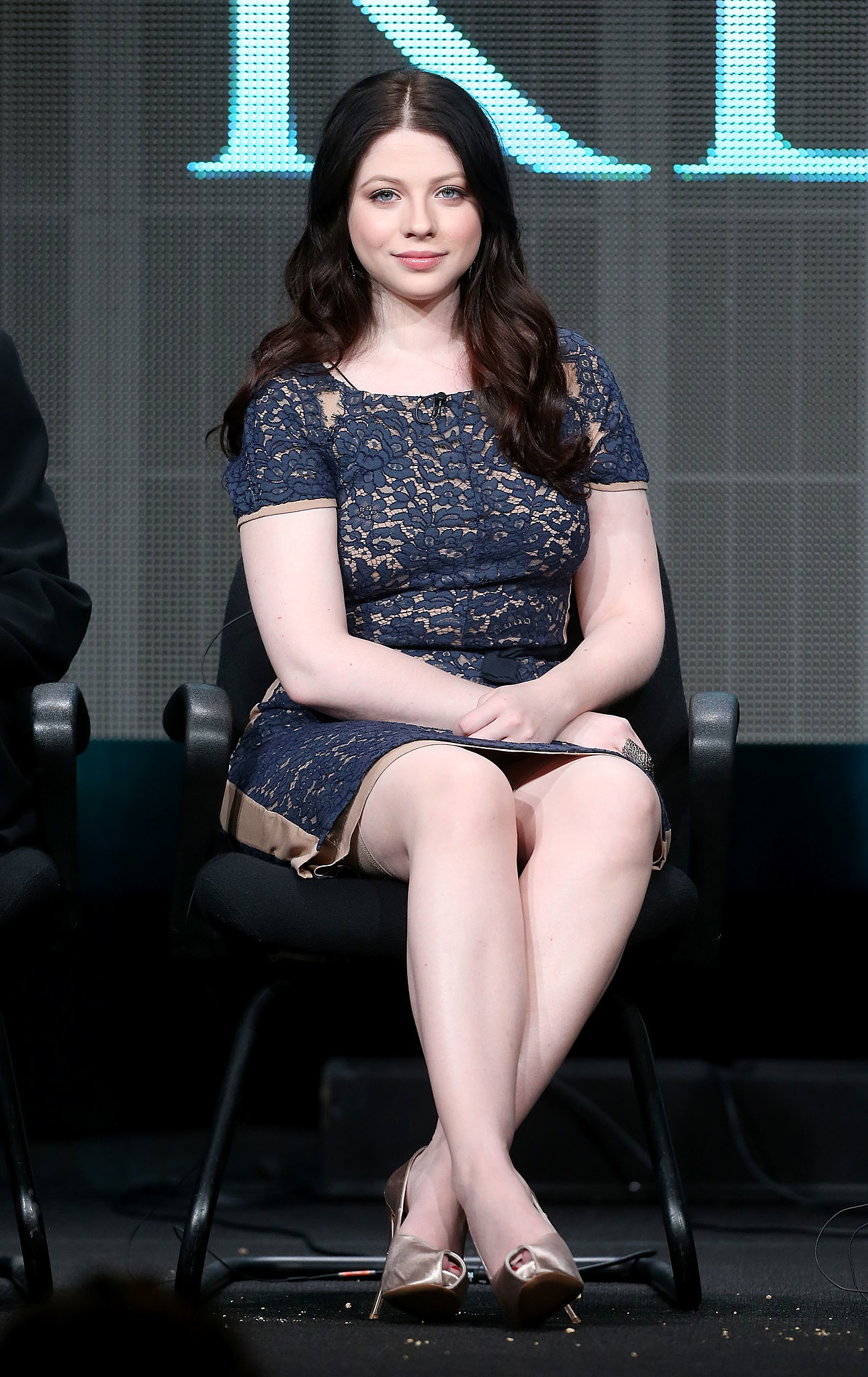 Michelle Trachtenberg attended the panel for Killing ...