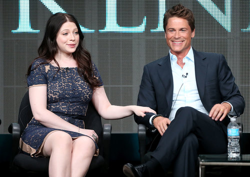 Rob Lowe and Michelle Trachtenberg shared some stage time to talk about Killing Kennedy.