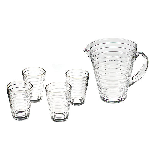 Aino Aalto, wife of Alvar Aalto, won multiple prizes for her eponymous glassware collection ($178).