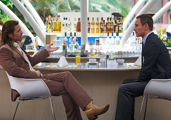 Brad Pitt and Michael Fassbender in The Counselor.