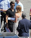 Emily VanCamp and Joshua Bowman Sneak In an Off-Camera Kiss