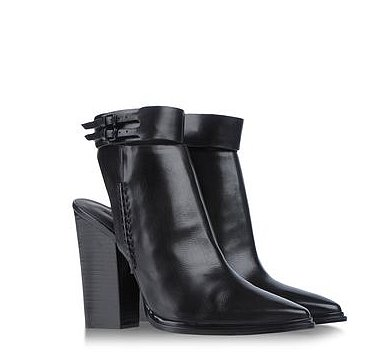Mater the downtown-girl uniform with Alexander Wang's Ankle Boots ($274, originally $685).
