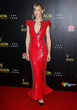 Thanks to the deep plunge and bold hue, Cate's red sequined Armani Privé gown was a daring choice, but one that truly paid off at the 2013 AACTA Awards in January in Sydney.