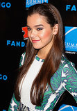 Hailee Steinfeld was also at Comic-Con, and she went with a tiny braid that started behind her ear and wore it as a headband — functional and cute!