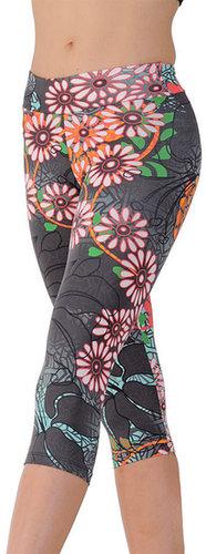 Margarita Activewear Capri #302TPrint