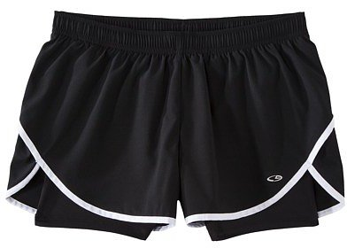 C9 by Champion® Women's Run Short with Compression - Assorted Colors