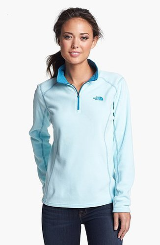 The North Face 'Glacier' Quarter Zip Pullover Frosty Blue X-Small