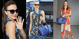 Miranda Kerr Masters Prints — and Rewears Her Accessories!