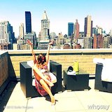 Sofia Vergara soaked up the sun on her terrace. Source: Sofia Vergara on WhoSay
