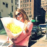 Sofia Vergara enjoyed a Summer bouquet.  Source: Sofia Vergara on WhoSay