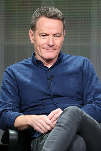 Bryan Cranston spoke at the panel for Breaking Bad.