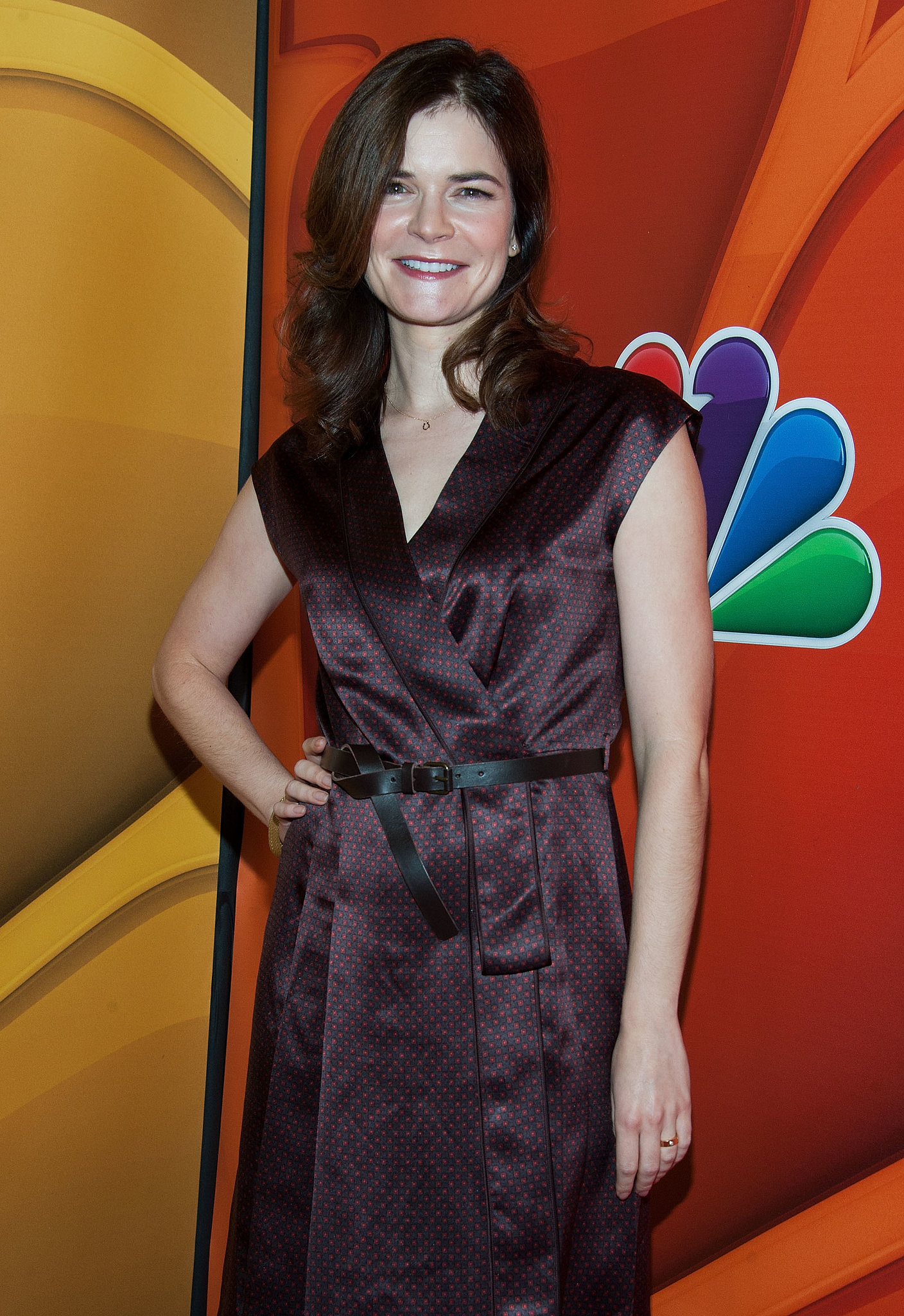 Betsy Brandt arrived at the event in LA.