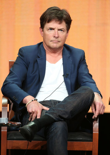 Michael J. Fox attended a panel for The Michael J. Fox Show.
