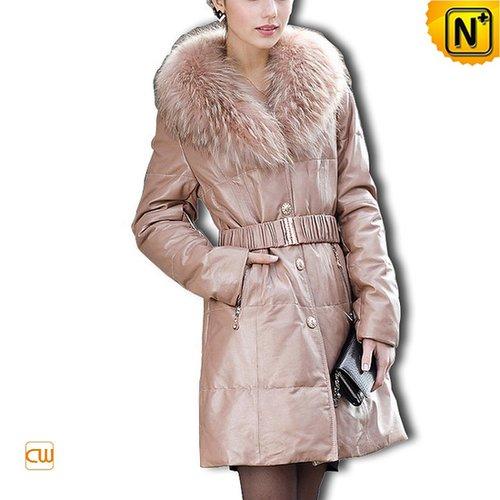 Long Down Coat for Women CW610011 - cwmalls.com