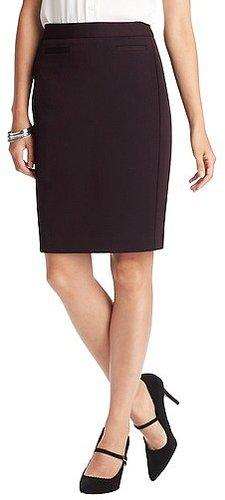 Tall Stretch Twill Pencil Skirt