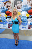 Katy Perry Has a Fangirl Moment With Britney Spears at the Smurfs 2 Premiere