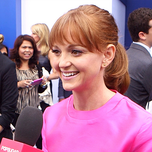 Jayma Mays on the Memorial of Cory Monteith