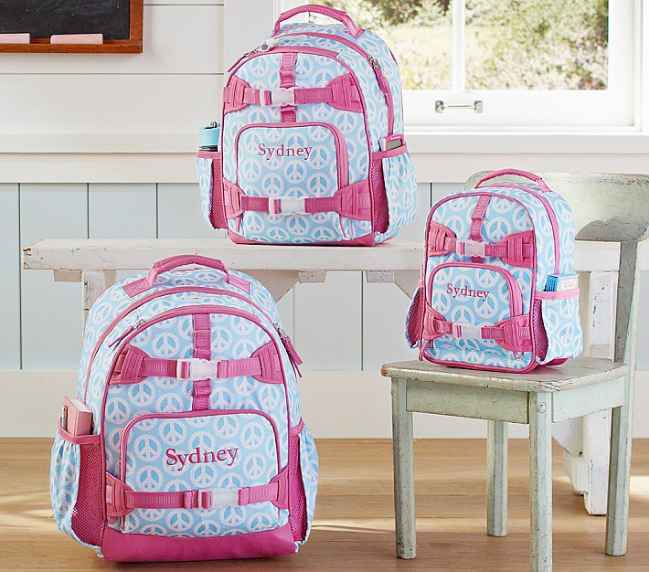 Mackenzie Aqua Peace Backpacks