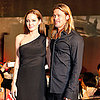 Brad Pitt and Angelina Jolie at Tokyo World War Z Premiere