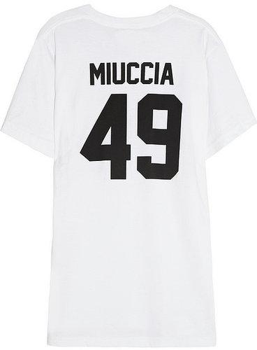 LPD New York Team Miuccia printed cotton-jersey T-shirt