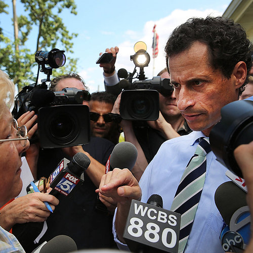 Anthony Weiner Confronted by Former Teacher | Video