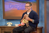 Matt Damon visited the set of Despierta America in Miami.